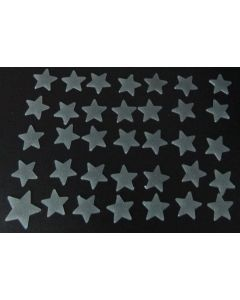 Glow in the dark sterren met glitters