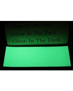 Glow in the dark vel stickervel